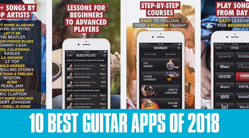 10 Best Guitar Apps of 2018 for the iPhone and iPad - Guitar Tricks Blog
