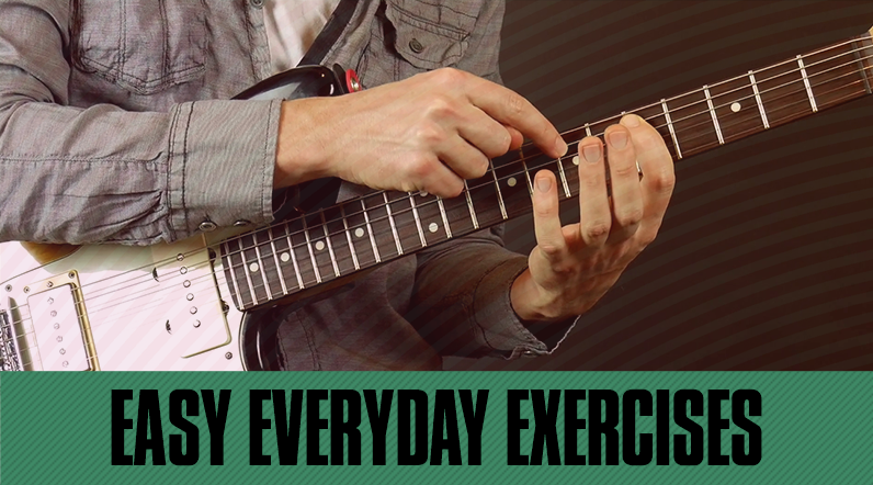 guitar exercises finger exercises