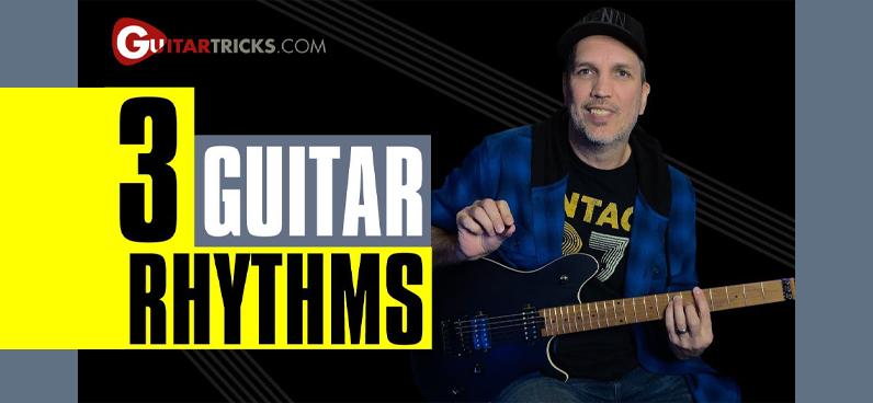3 Guitar Rhythms
