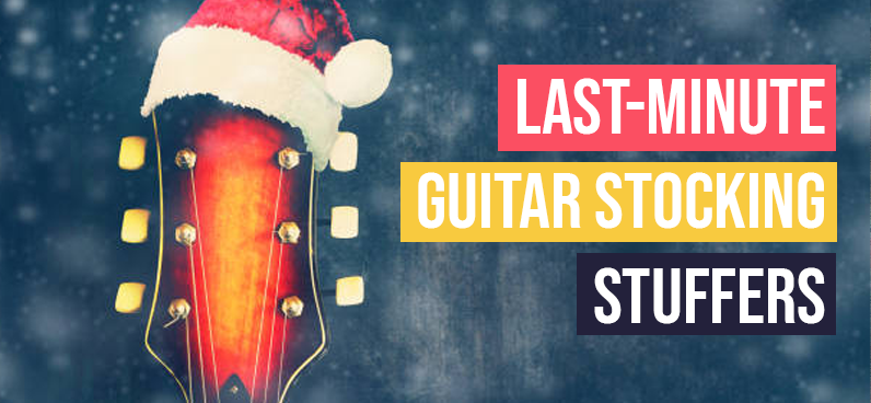 Last-Minute Guitar Stocking Stuffers