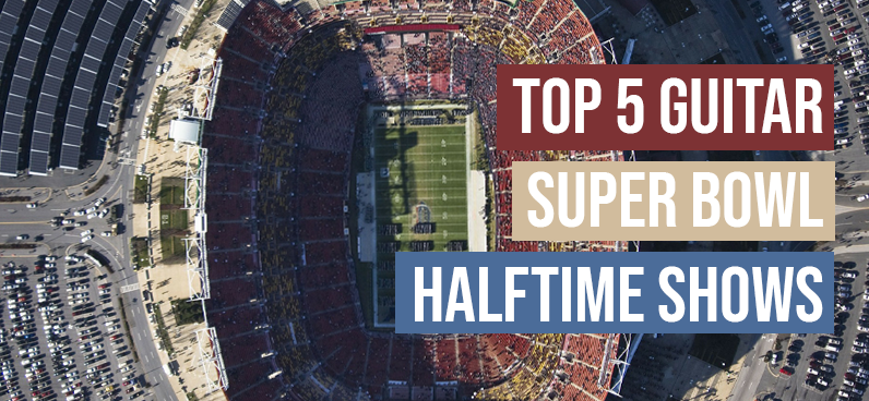 Guitar Super Bowl Halftime Shows