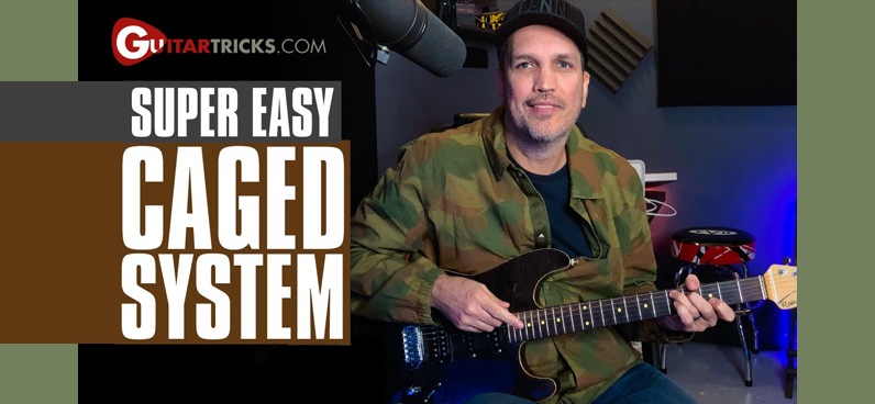 Super Easy CAGED System