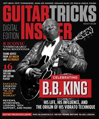 Guitar Tricks Insider Dec/Jan Issue
