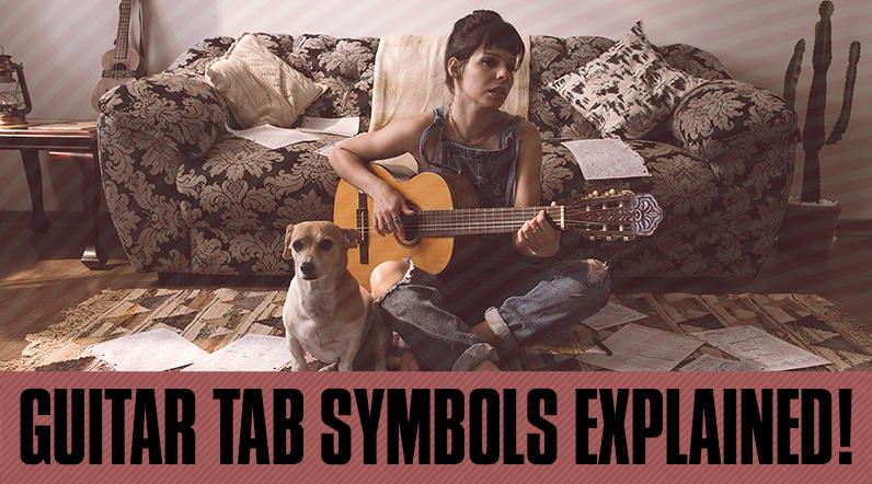 guitar tab symbols