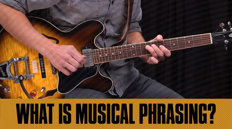 phrasing - musical phrasing