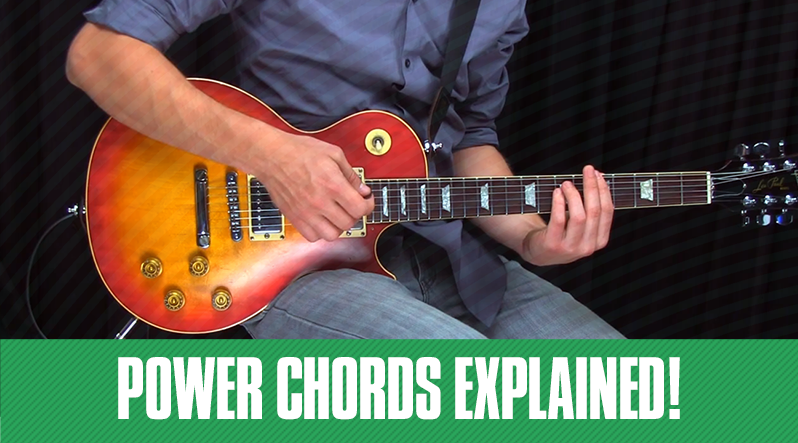 Power Chords Explained In 5 Easy Steps Guitar Tricks Blog