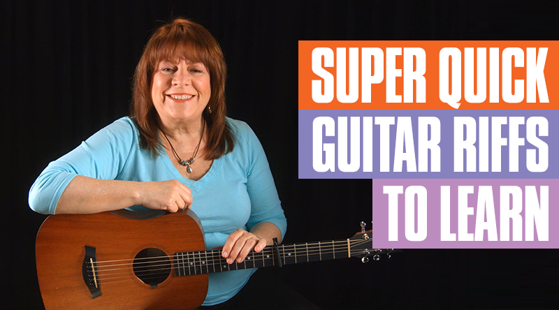Super Quick Guitar Riffs You Must Learn
