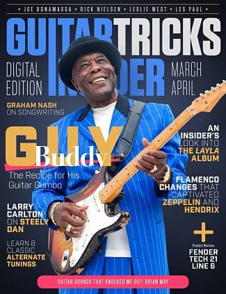 Guitar Tricks Insider March/April Issue