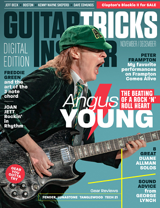 Guitar Tricks Insider November/December Issue