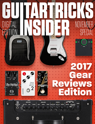 Guitar Tricks Insider Gear Reviews of 2017