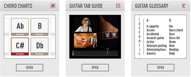 New Chord Charts, Private Lessons, and More! - Guitar Tricks Blog