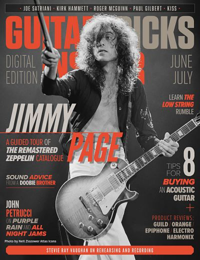Guitar Tricks Insider June/July Issue:
