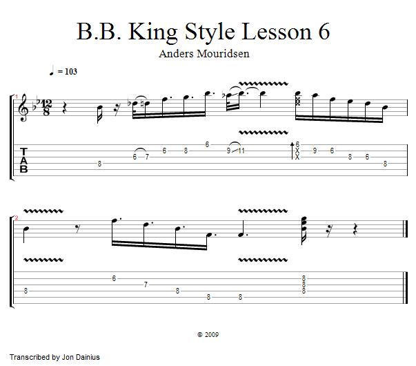 lesson notation