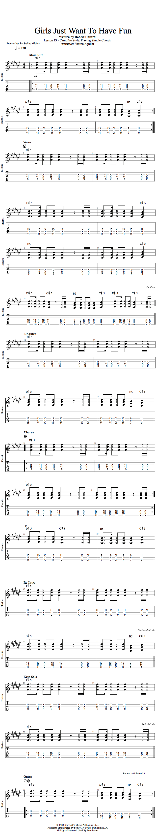 Guitar Lessons Campfire Style Playing Simple Chords